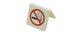 Non Smoking Table Sign Small
