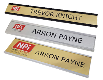 Oval Name Badge